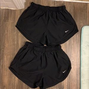 COPY - Black nike shorts.